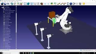 Robô de fresagem de madeira TCP remoto