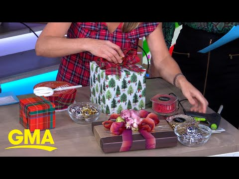 The Great 'GMA' Wrap Battle teaches you how to wrap gifts like a pro l GMA