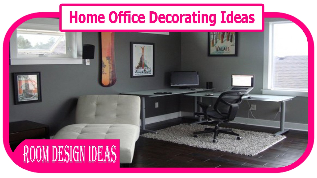 Home office decorating ideas small home office decorate for Home decorations youtube