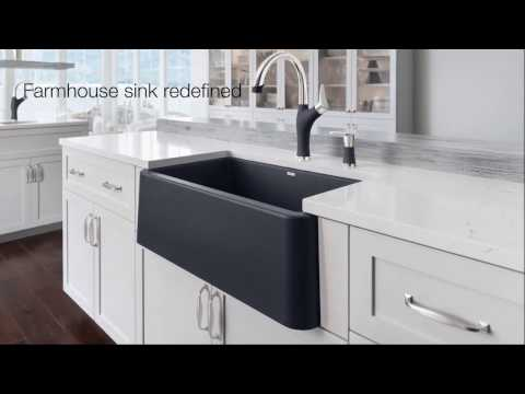 Ikon Farmhouse Kitchen Sink Collection | The First Apron Front Sink Of It's Kind