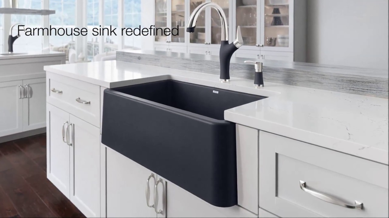 Ikon Farmhouse Kitchen Sink Collection | The First Apron Front Sink Of It\'s  Kind