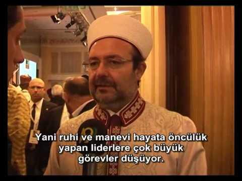 Diyanet İşleri Başkanı Sayın Prof. Dr. Mehmet Görmez