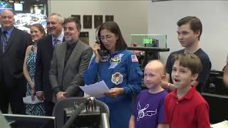 Space Station Crew Unveils