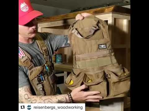 Atlas 46 JourneyMESH Cargo Pocket VS Open Pocket Chest Rig