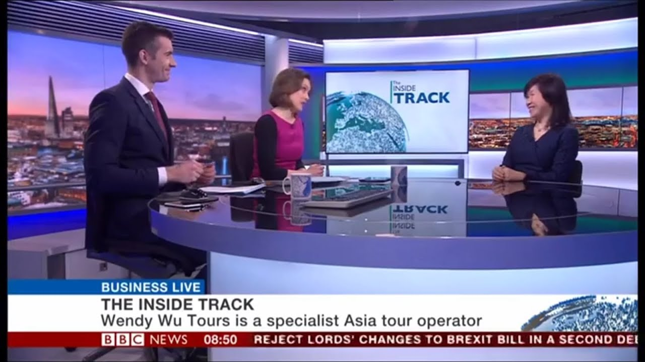 Wendy Wu appears on BBC World News Business Live