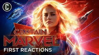 First Captain Marvel Reactions: Brie Larson Shines In 90s Sci Fi Action Origin