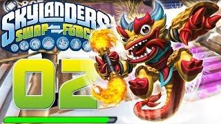 Skylanders Swap Force 3DS Part 2 - Fire Kraken | Let´s Play Skylanders Deutsch