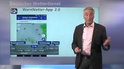 DWD - WarnWetter-App 2.0 - Infos von Hans-Joachim Koppert (Vorstand Wettervorhersage)