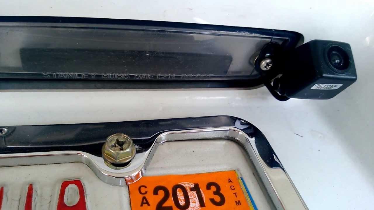 Backup Camera, Bluetooth, Music and Navigation in 94 Honda Accord - Video 7, Backup Camera ...