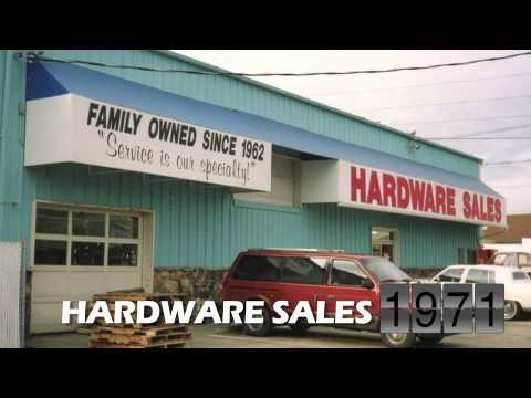 The Hardware Sales Retail Store Building Over The Last 50 Years