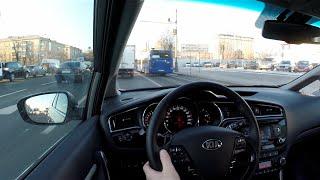 Тест драйв Kia Ceed 1.6 DCT Рестайлинг 135 л.с. + Разгон 0-100