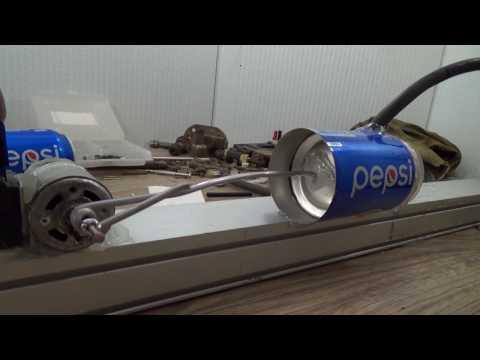 видео: Мощный компрессор. Самоделки для гаража - насос из ПЕПСИ. Делаем самоделки своими руками.