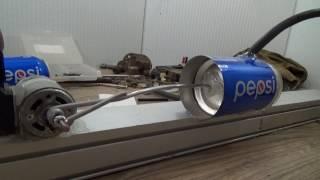 Мощный компрессор. Самоделки для гаража - насос из ПЕПСИ. Делаем самоделки своими руками.