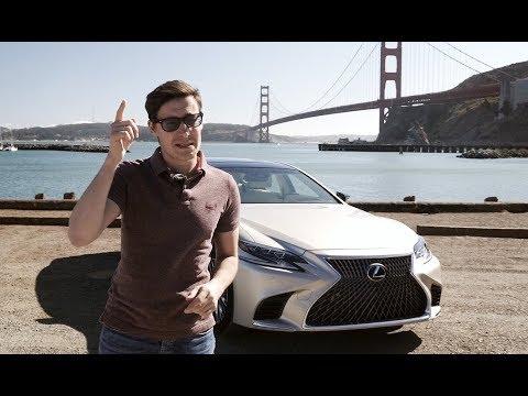 Царь комфорта и спокойствия новый Lexus LS500 2018. Тест драйв и обзор