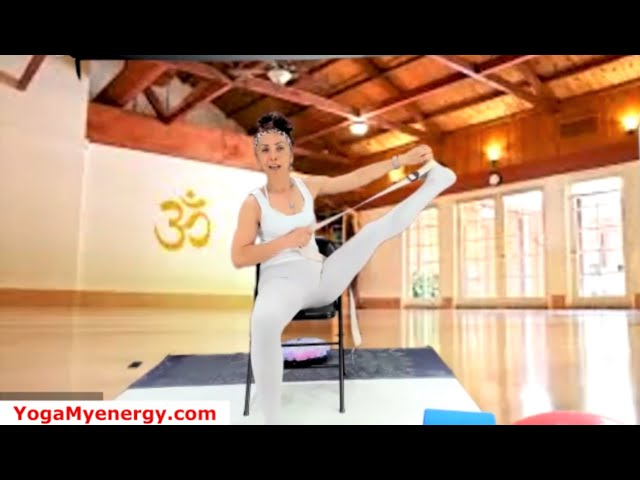30 Minutes Gentle Chair Yoga