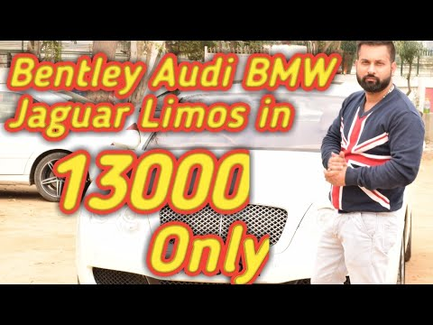 CHEAPEST LUXURY WEDDING CARS ON RENT   BENTLEY CAR IN JUST 13000   BMW  AUDI  LIMO  BENTLEY  HUMMER