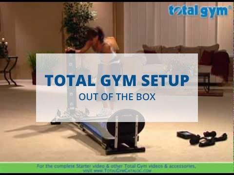Total Gym Setup