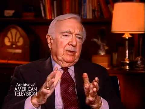 Walter Cronkite on becoming the Anchor...