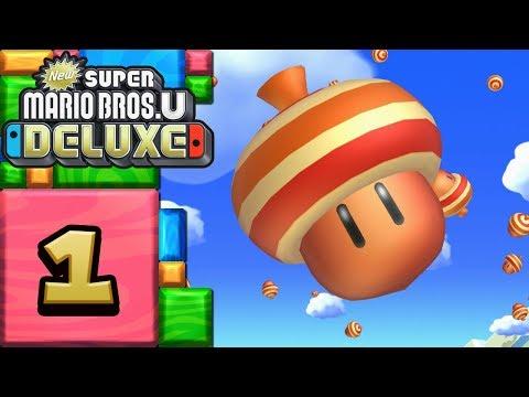 New Super Mario Bros. U Deluxe ITA [Parte 1 - Piana Delle Ghiande]