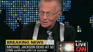Larry King Comments On Michael Jackson's Death