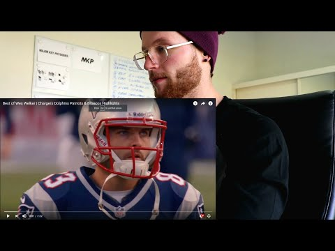 Rugby Player Reacts to WES WELKER NFL Career Highlights w/ Chargers, Dolphins, Patriots & Broncos.
