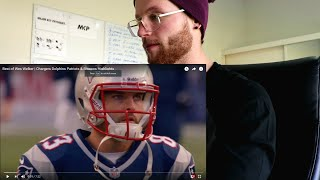 Rugby Player REACTION to Wes Welker NFL Career Highlights w/ Chargers, Dolphins, Patriots & Broncos.