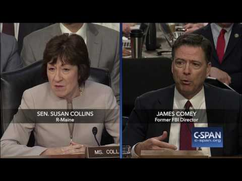 "James #Comey: ""I asked a friend of mine to share the content of the memo with a reporter."" (C-SPAN)"
