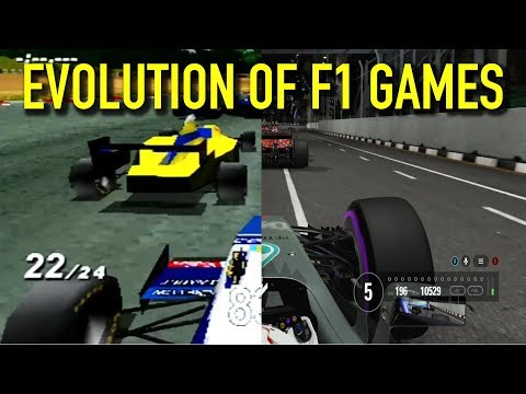 The Evolution of F1 Games (1989 - 2017)