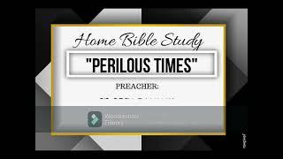 HOME BIBLE STUDY (
