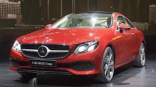 Daimler's Zetsche Shows Off the New Mercedes E-Class