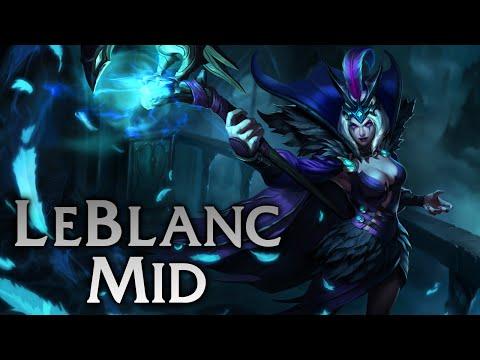 League of Legends | Ravenborn LeBlanc Mid - Full Game Commentary