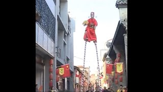 Unique Chinese Folk Stunts