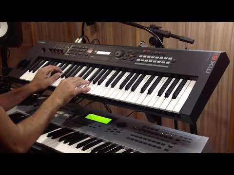 YAMAHA MX61 (FM Piano) - Versace on the floor