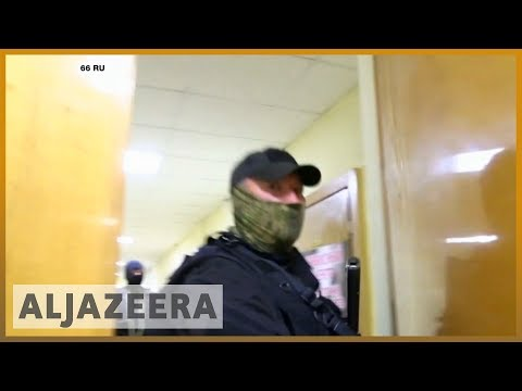 Russia police raid opposition leader Alexei Navalny's offices