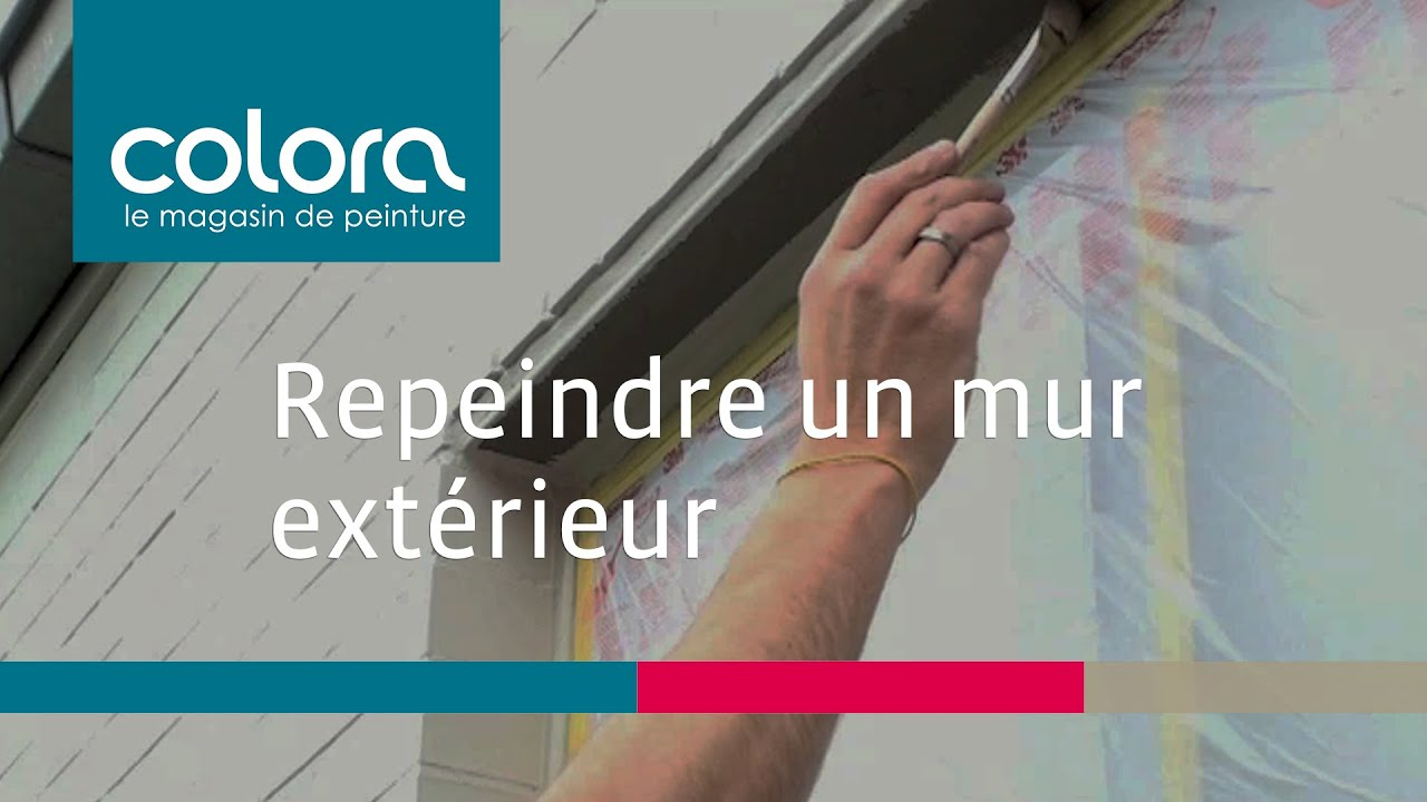 Repeindre un mur ext rieur comment faire youtube - Repeindre un crepi exterieur ...