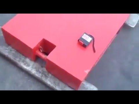 Sumo Load Test ลูกตุ้มน้ำหนักเหล็กมาตรฐานขนาด 500kg ขนาดกะทัดรัด
