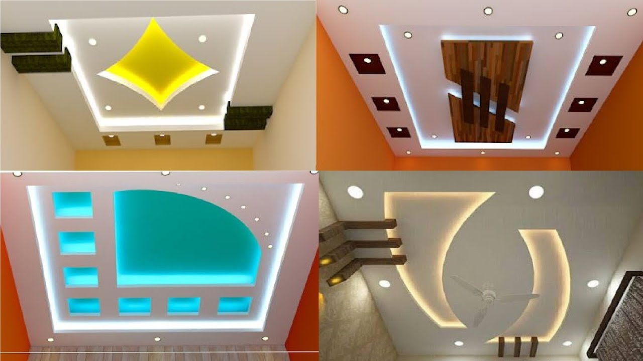 Top Pop Ceiling Design Ideas For Hall How To Design Youtube