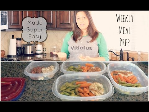 HOW TO PREP MEALS FOR WEIGHT LOSS!