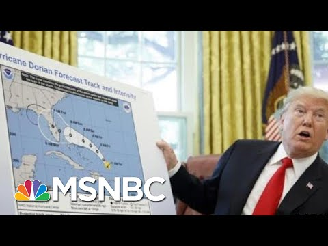 Trump Lies About Storm Harder To Ignore Than His Usual Nonsense | Rachel Maddow | MSNBC