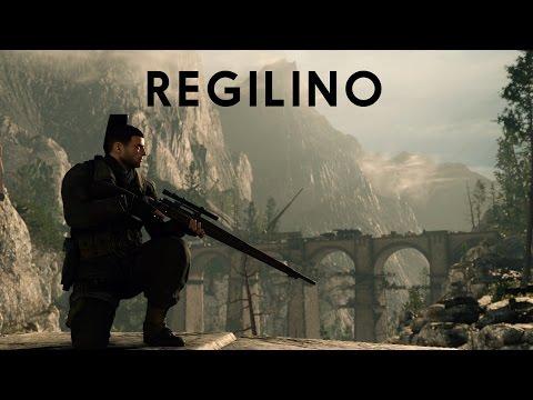 Sniper Elite 4 - Regilino Cinematic Movie