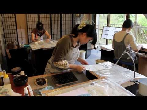 Ukiyoe Heroes (21) : Making the I Choose You woodblock print