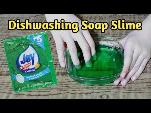 DISH SOAP SLIME (JOY DISHWASHING LIQUID) | DIY Slime Philippines