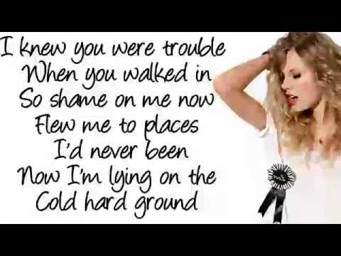 Taylor Swift - I Knew You Were Trouble *DOWNLOAD* + Lyrics *FREE* - YouTube