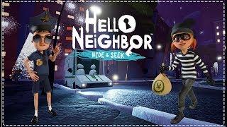 SOYGUN TAMAM! STAGE 2 BİTTİ! | Hello Neighbor Hide & Seek