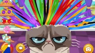 Angry Cat Hair Salon (Сердитый кот в парикмахерской) - прохождение игры