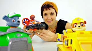 Песенки про машинки. Щенячий патруль в видео для детей.