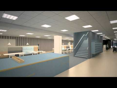 3D Model Video of the new Amsterdam Campus of Hotelschool The Hague