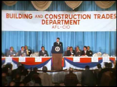 President Reagan's Remarks at the National Conference of the AFL-CIO on March 30, 1981