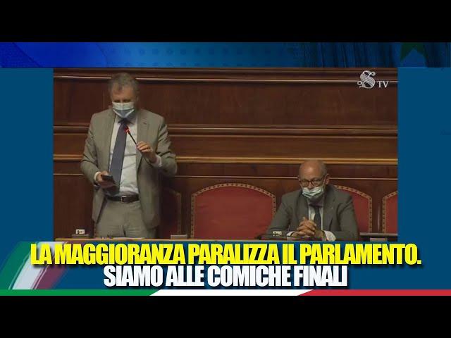 Il Sen. Calandrini interviene sull'ordine dei lavori