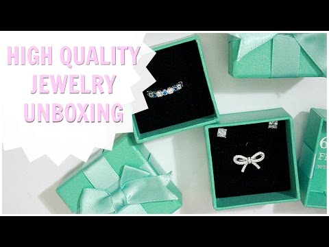 HIGH QUALITY AFFORDABLE JEWELRY UNBOXING!! Ft. 6GrapeFineJewelry on ETSY!